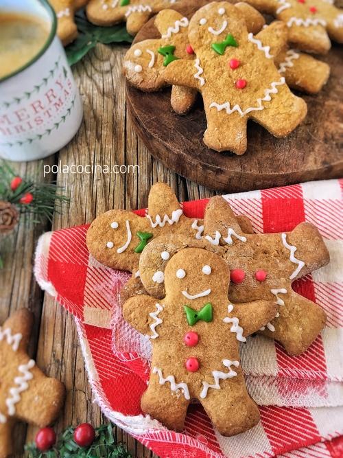 Receta De Galletas De Jengibre De Navidad Cómo Hacer Hombrecitos